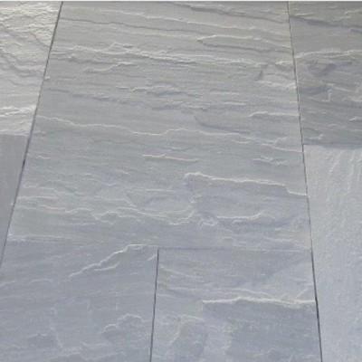 Sandstone pavers grey natural split